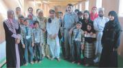 Alma encourages blind school students of Baramulla (J&K)