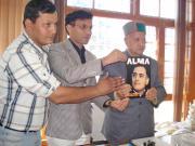 CM  Virbhadra Singh  Releases Alma Magazine