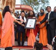 Parmarth Niketan Ashram Includes in World Record
