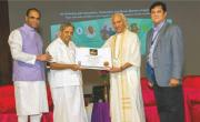 Dr. H.R. Nagendra  gets honored by WBR (USA)