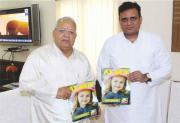 Union Minister  Kalraj Mishra releases Alma Kids Magazine