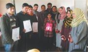 Aiita distributes Certificates in Baramulla (J & K)